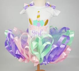 Verjaardag tutu set | Unicorn Birthday Girl