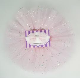 Cakesmash tutu rok   Sparkle licht roze