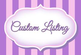 Custom listing Ayaprah