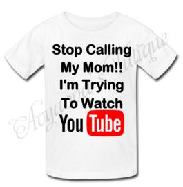 Unisex shirt | stop calling my mom shirt