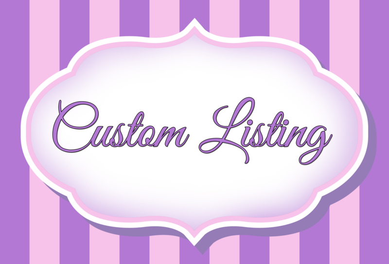 Custom listing Chereli