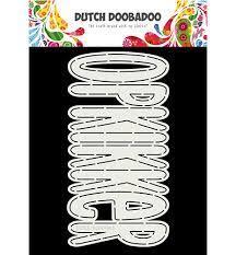 Dutch Doobadoo Card Art Opkikker A5