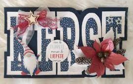 Dutch Doobadoo Card Art Kerst A5