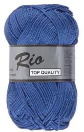 Rio katoen garen blauw 039