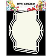 Dutch Doobadoo Dutch Shape Art label 4 A5