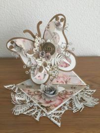 Easel vlinderkaart