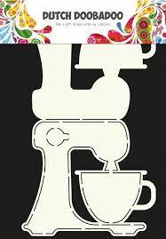 Dutch Doobadoo  Card Art  Kitchen Aid A4