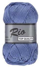 Rio katoen garen blauw 022