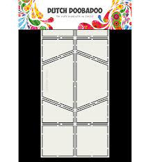 Dutch Doobadoo Fold Card art dubbel diamant A4