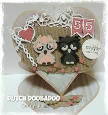 Dutch DooBaDoo Card Art Easel Card Heart A4