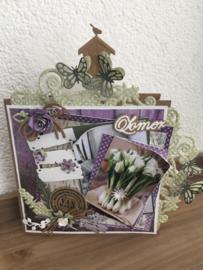 Lavendel kaart workshop