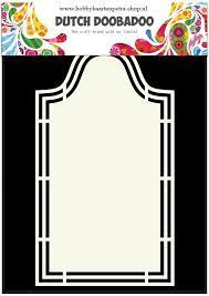 Dutch Card Art Shape Art Label 5 A5