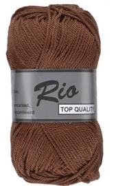 Rio katoen garen bruin 110