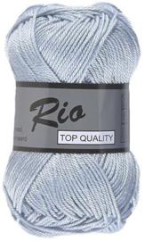 Rio katoen garen lichtblauw 050