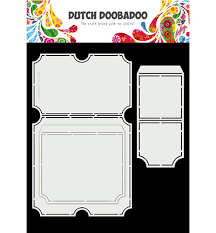 Dutch DooBaDoo Card Art Tickets A4