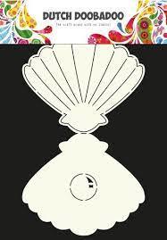 Dutch Doobadoo Dutch Card Art Conch A4
