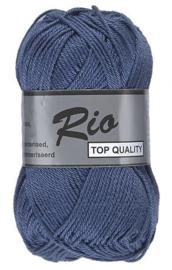 Rio katoen garen blauw 890