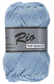 Rio katoen garen lichtblauw 011