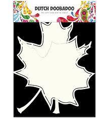 Dutch Doobadoo Card Art Leafs A5