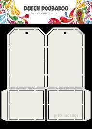 Dutch Doobadoo Card art label A5