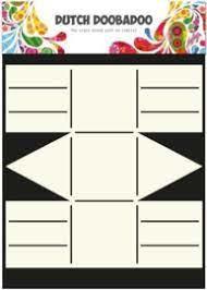 Dutch Doobadoo - Card Art - Basket  A4