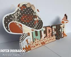Dutch Doobadoo Card Art Herfst  A5