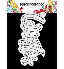 Dutch Doobadoo Card Art winter A5