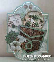 Dutch Doobadoo Dutch Shape Art label 6 A5