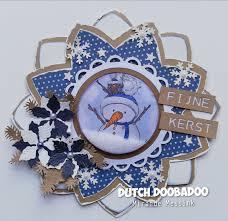 Dutch Doobadoo Dutch Shape Art Octo Flower  A4
