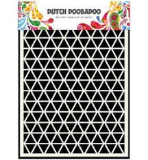 Dutch Doobadoo Dutch Mask Art stencil Pijlen A5