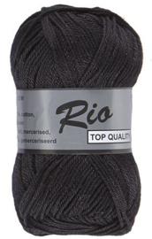 Rio katoen garen zwart 001