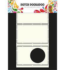 Dutch DooBaDoo Card Art Pop Up Circle A4