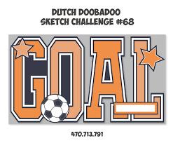 Dutch Doobadoo Card Art Goal A5