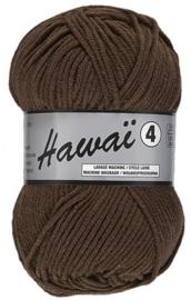 Hawai 4 garen donker bruin