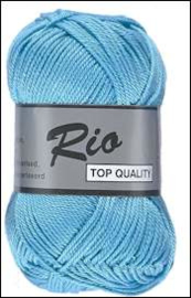 Rio katoen garen turquoise 838