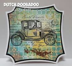 Dutch Doobadoo Dutch Mask Art stencil - patch A5