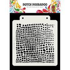 Dutch Doobadoo Dutch Mask Krokodil A5