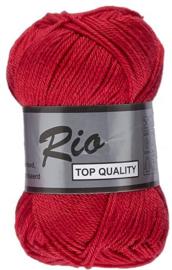 Rio katoen garen rood 043