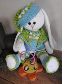 XXL Funny Bunny kledingset Spring bright