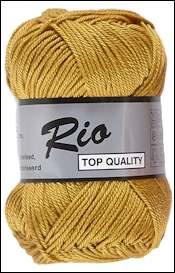 Rio katoen garen oker geel 846