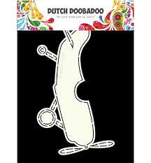 Dutch Doobadoo Dutch Card Art vliegtuig A5