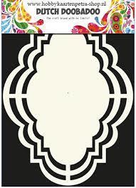 Dutch Doobadoo Label Romantic Shape Art A5