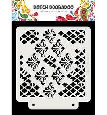 Dutch Doobadoo Dutch Mask Art Grunge Chrevrons A5