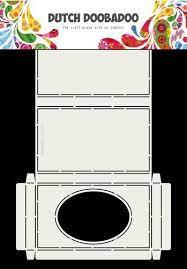 Dutch Doobadoo Dutch Box Art venster ovaal A4