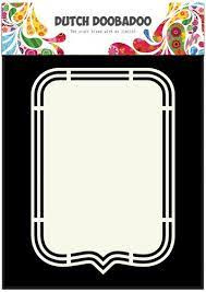 Dutch Doobadoo Dutch Shape Art label A5