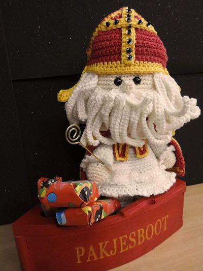 Haakpakket Funny Sinterklaas (limited edition)