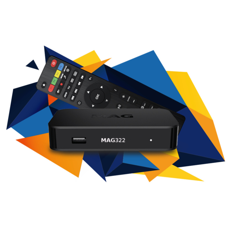 MAG322 set-top box
