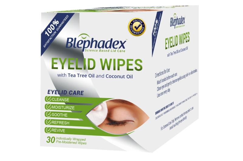 Blephadex Eyelid Wipes