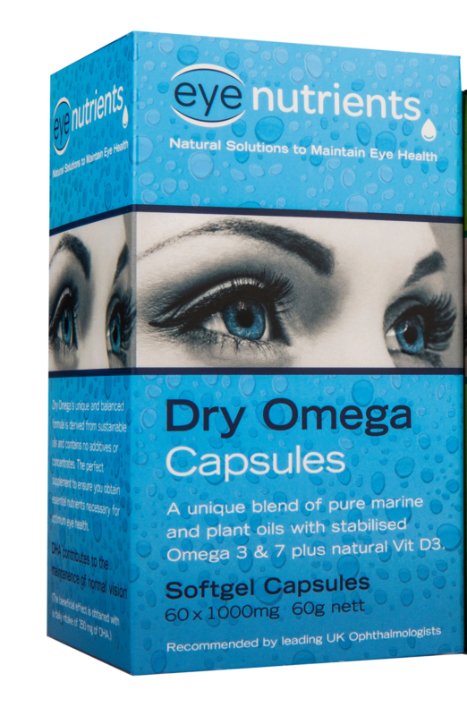 Eye Nutrients Dry Omega Capsules