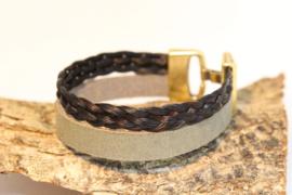 Paardenhaar armband OliveBraid